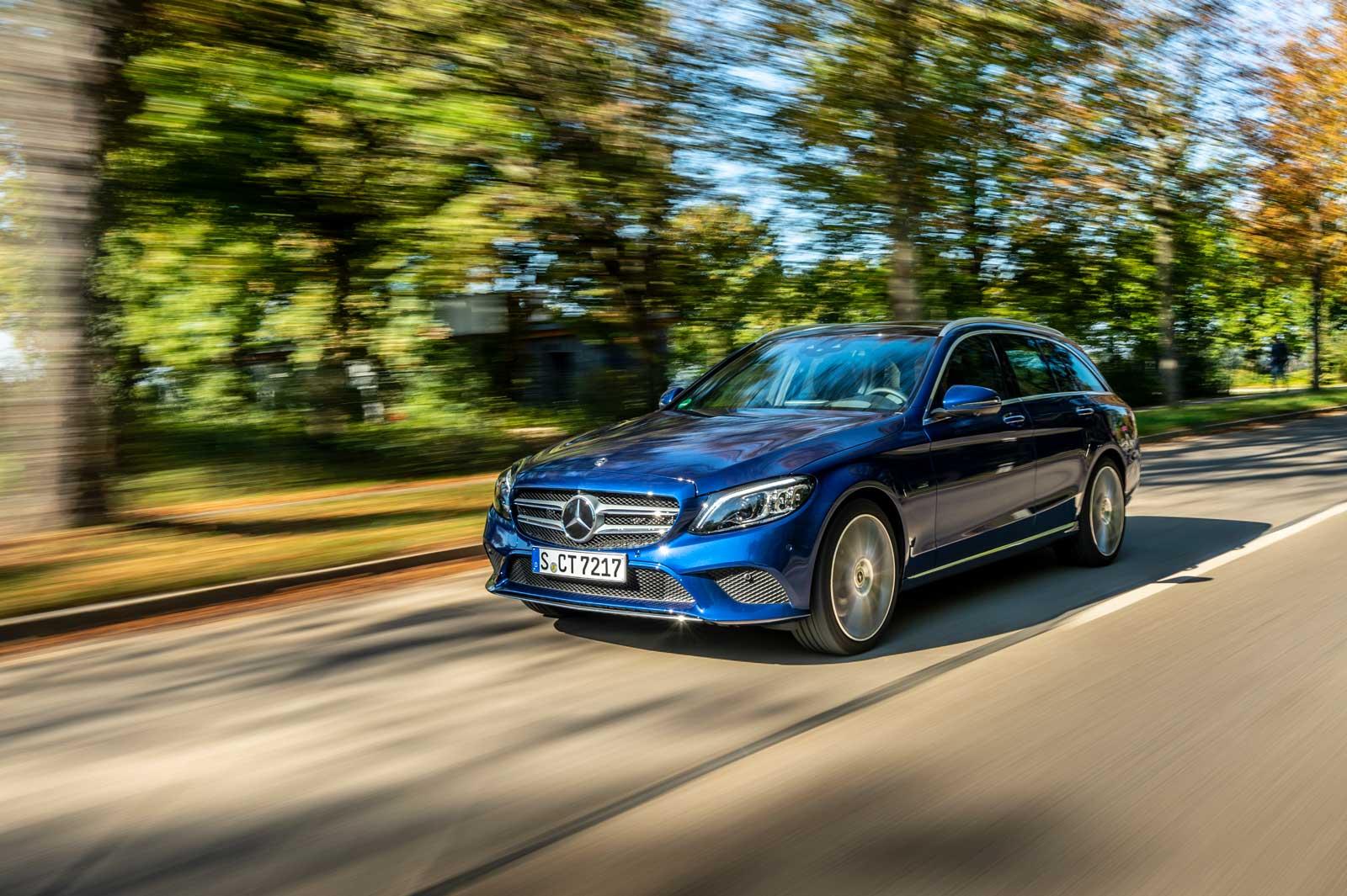 Mercedes C-klasse Diesel hybrid
