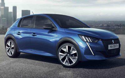 Peugeot e-208 elbil koster under 250 000 kroner