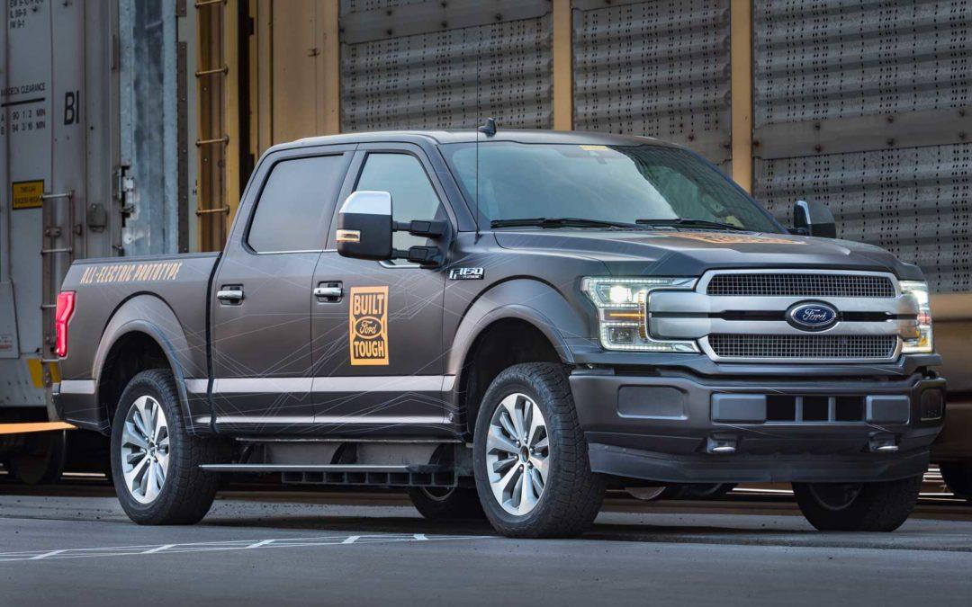 Ford F-150 pickup blir elektrisk