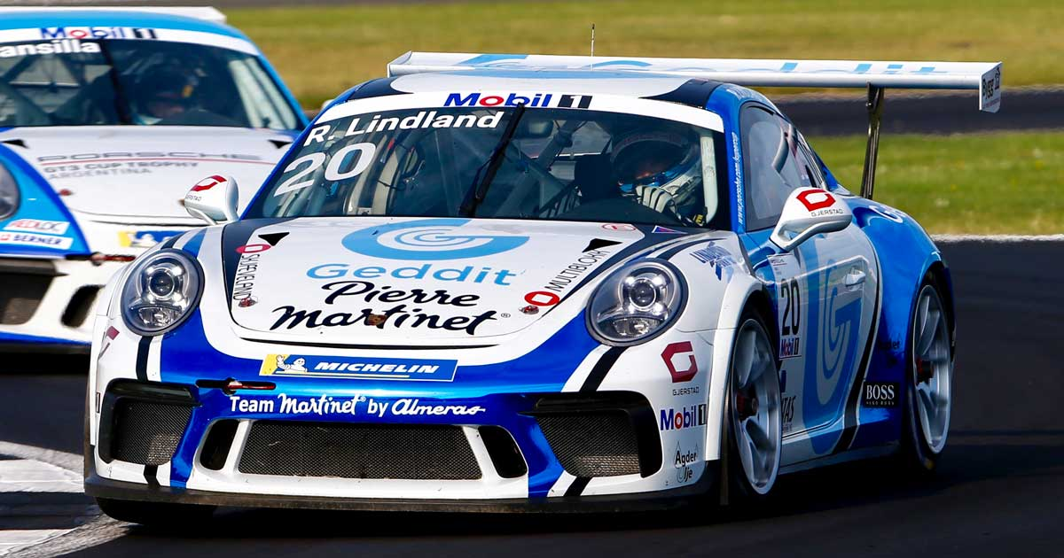 Roar Lindland Porsche Supercup Silverstone