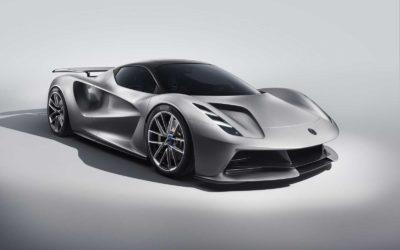 Lotus Evija – en elektrisk superbil