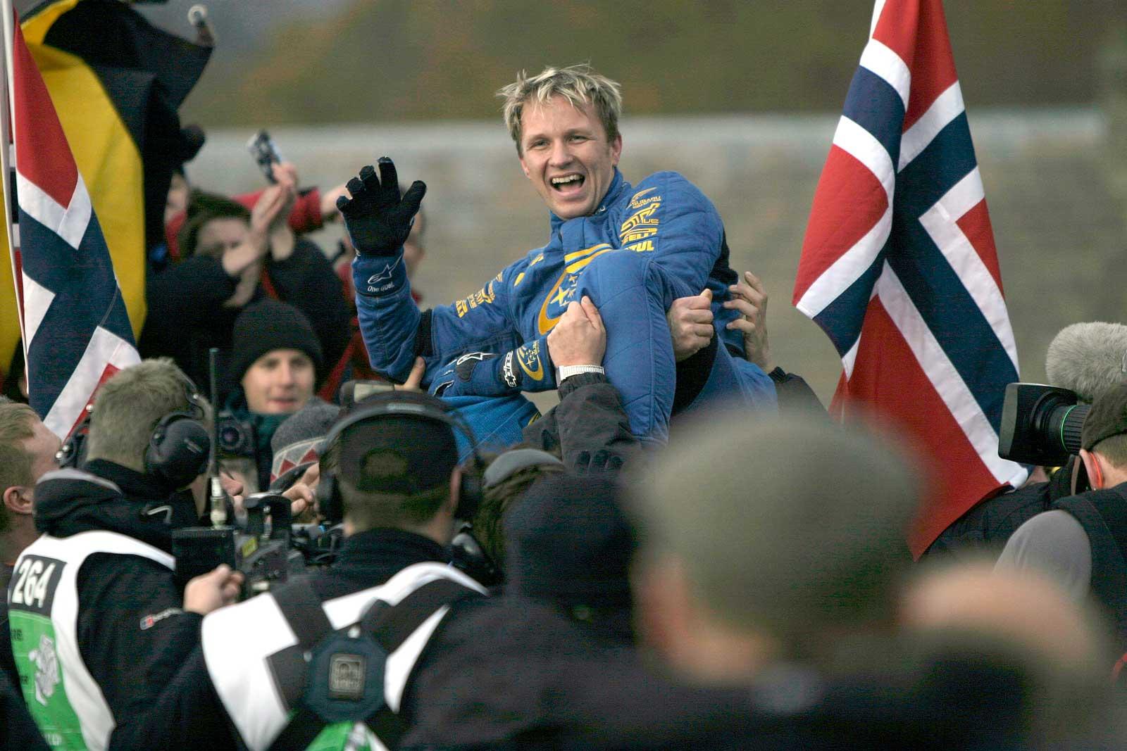 Petter Solberg Rally VM 2003