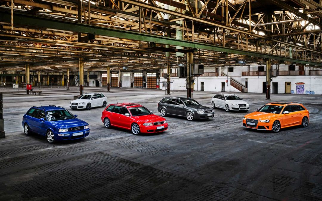 Audi feirer 25 år med RS-modeller