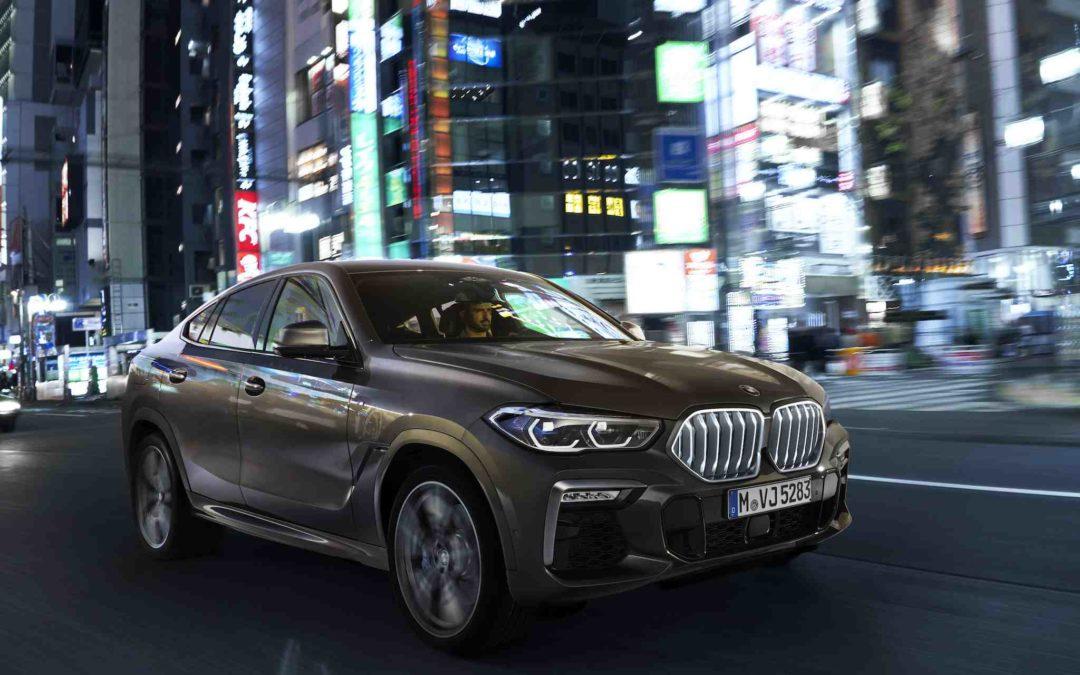 Ny BMW X6 med brede skuldre og kraftfull pondus