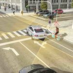 Redusert kollisjonsfare mellom bil og sykkel