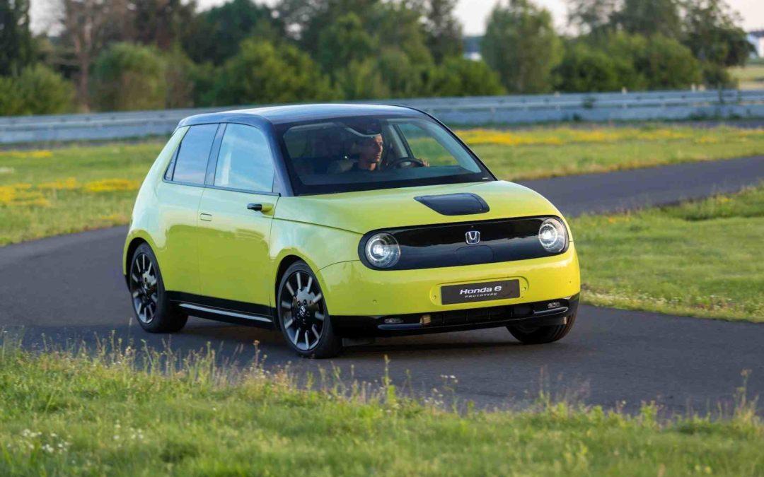 Startpriser for elbilen Honda e er offentliggjort