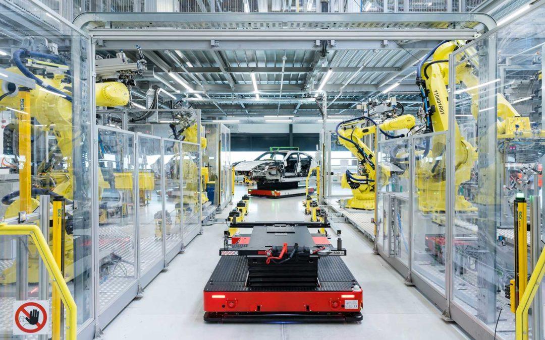 De første Porsche Taycan kundebiler produseres 9. september