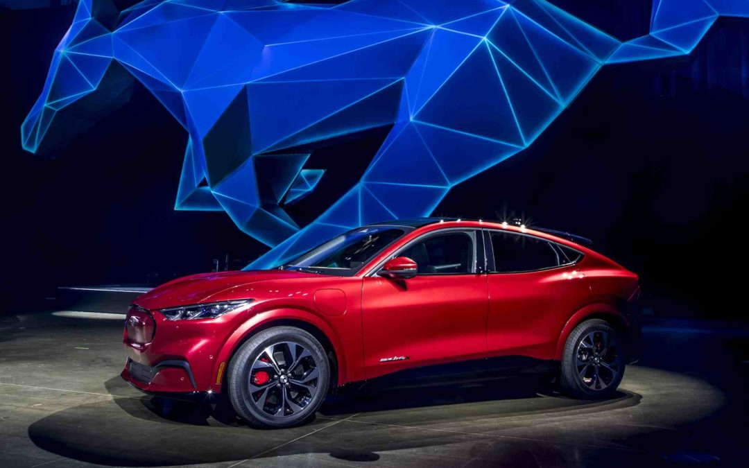 Ford Mustang Mach-E elbil: Her er prisen og rekkevidden