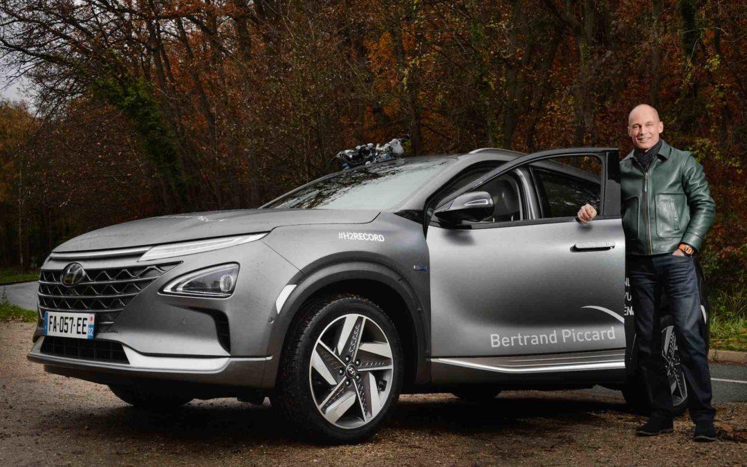 Rekkevidde-rekord for Hydrogenbilen Hyundai NEXO