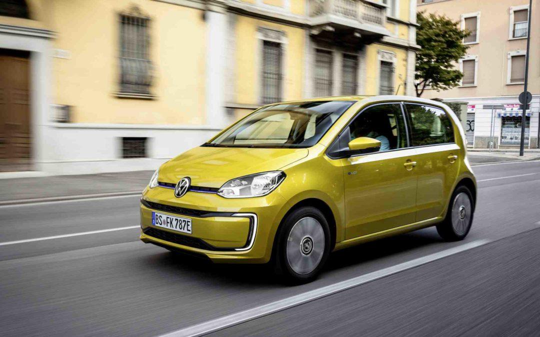 Nye VW e-UP, en liten gullklump!