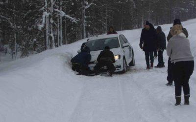 Har du vært innblandet i en bilulykke om vinteren?