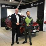 Første MG ZS elbil fra Kina er levert i Norge