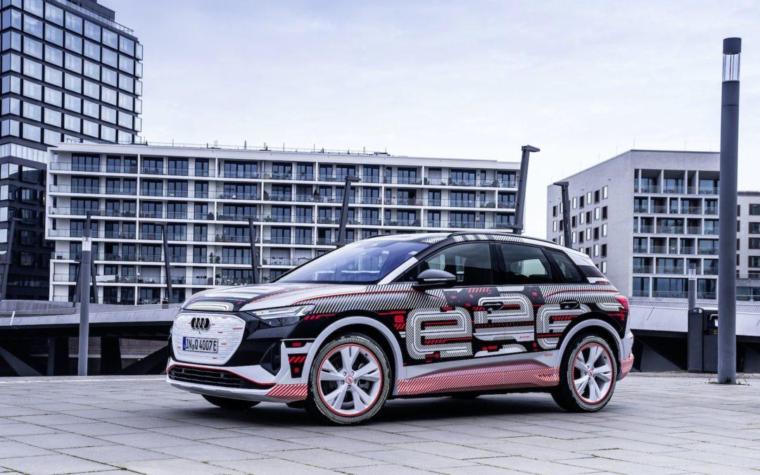 Audi Q4 e-tron er en ny modell på MEB-plattformen