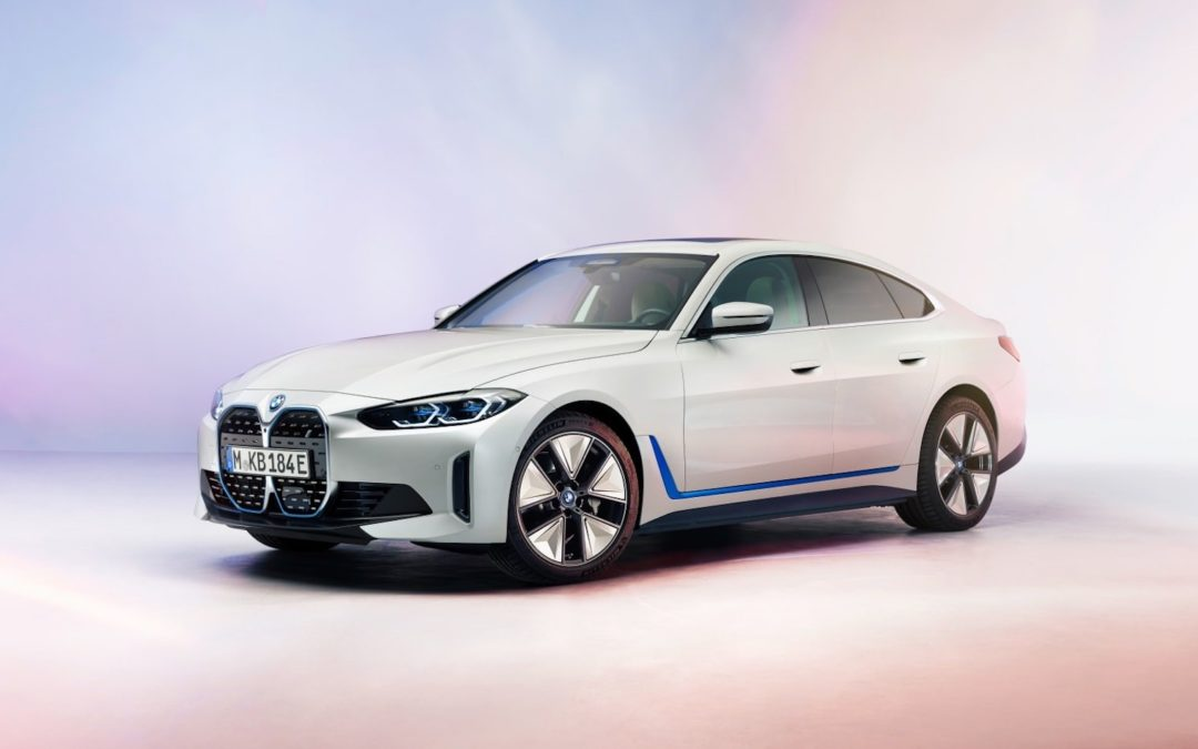 BMW i4 – klassisk sedan i elektrisk utgave