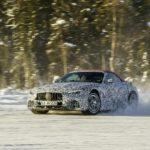 Nye Mercedes SL i tøffe vinter-tester