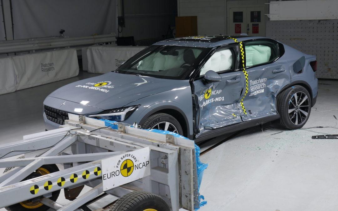 Sterke resultater for Polestar 2 i Euro NCAP