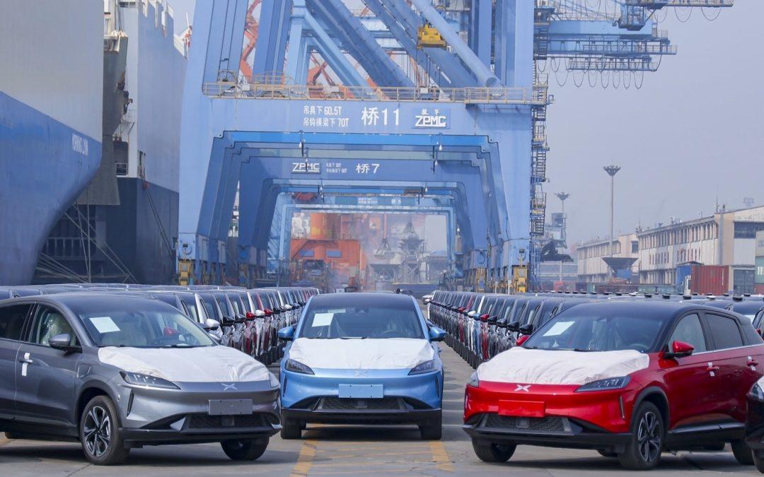 Ytterligere 200 Xpeng elbiler på vei til Norge
