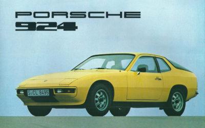 Porsche 924 er blitt 45 år