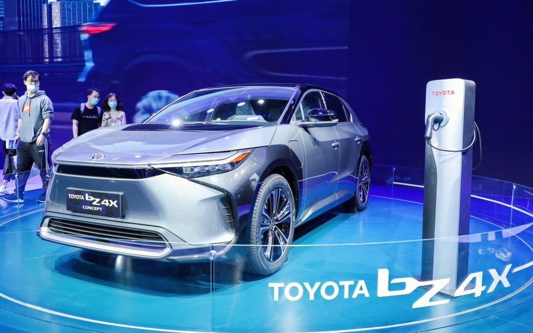 Verdenspremiere for elbilen Toyota bZ4X