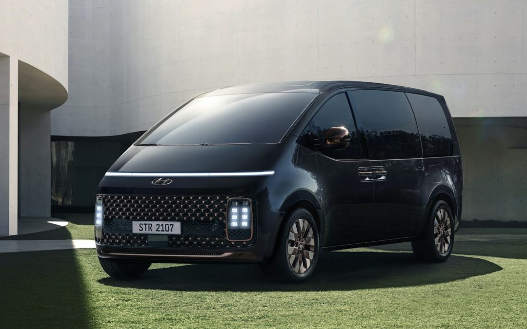 Minivan med særpreg: Hyundai Staria