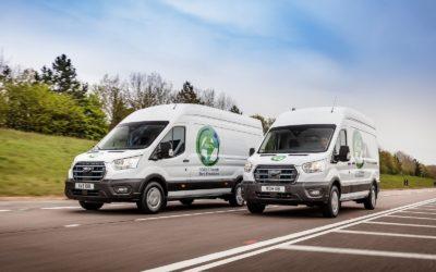 Den elektriske Ford E-Transit testes for fullt