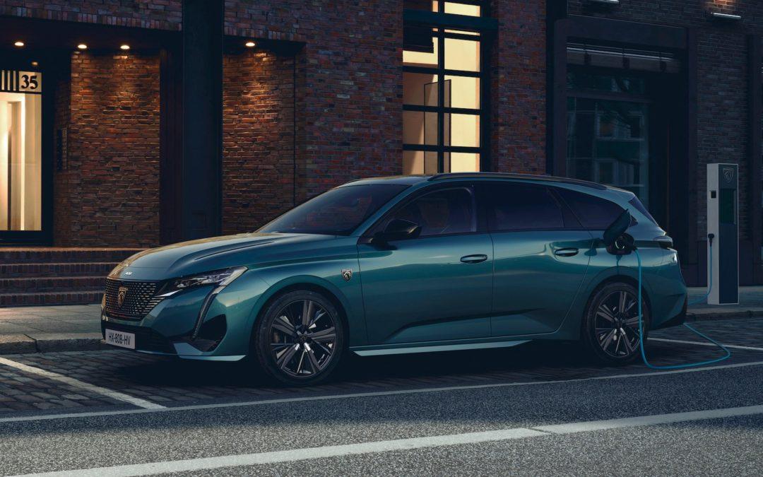 Peugeot 308 SW: ny ladehybrid med god rekkevidde