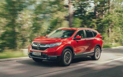 Honda CR-V kommer med hybrid drivlinje