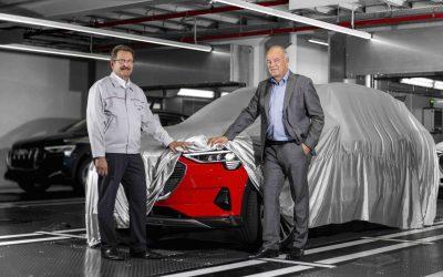 Produksjonen av elbilen Audi e-tron er i gang