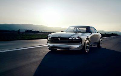 Peugeot e-LEGEND, Retroinspirert fremtidskonsept
