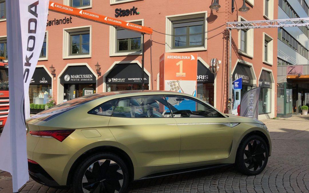 Eksklusive elbil-prototyper vises i Arendal